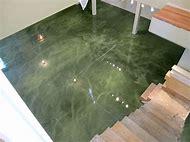 Green Metallic Epoxy Floor Coatings