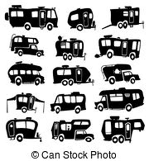 motorhome clipart black and white motorhome illustrations and clipart 1 475 motorhome