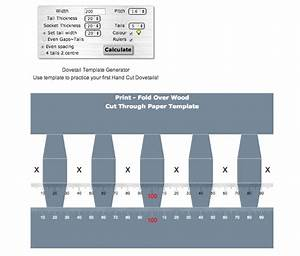 Dovetail Joint Template Generator - The Best Dove 2017