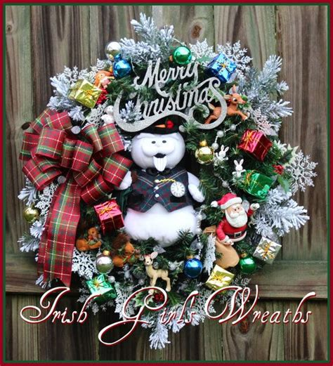 christmas decorations for the land of misfits sam the snowman rudolph island of misfit toys wreath by irishgirlswreaths midfit toys