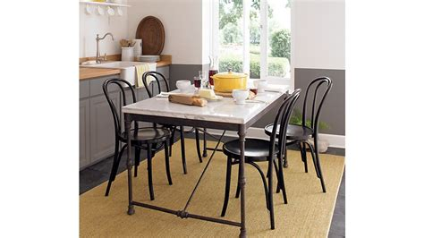 french kitchen table reviews crate  barrel