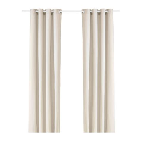 ikea sanela curtains sanela curtains 1 pair light beige 140x300 cm ikea