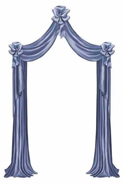 Curtain Clipart Curtains Transparent Decorative Yopriceville Cortinas