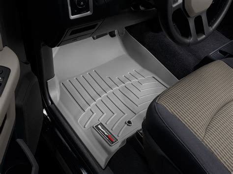 weathertech floor mats dodge ram weathertech 174 floorliner dodge ram truck 2500 3500 crew cab 2010 2012 grey ebay