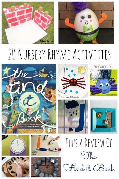 20 nursery rhyme activities for preschoolers preschool 284 | 4fdbc350909d6fa24bab96e6ec8092ad