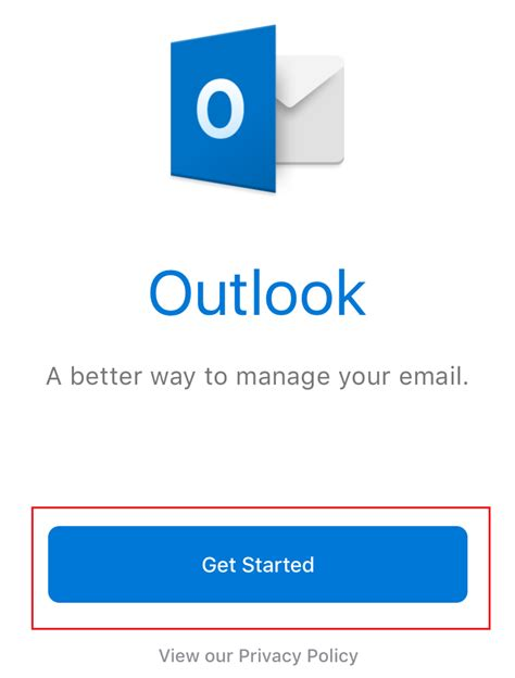 outlook web app iphone