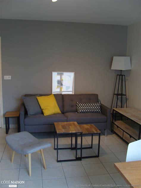 bureau bois design un appartement de 40m dans un style industriel isabelle