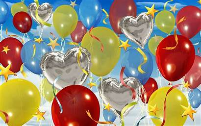 Birthday Wallpapers Balloons Strictly