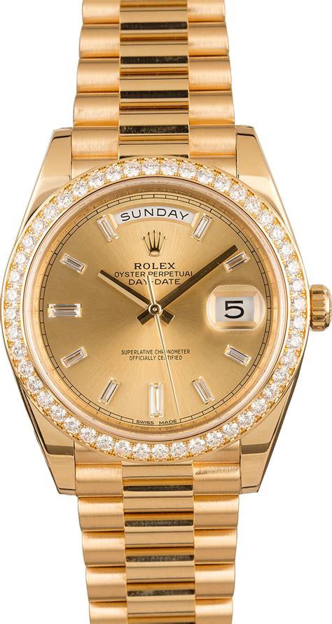 buy  rolex day date ii cdp bobs watches sku