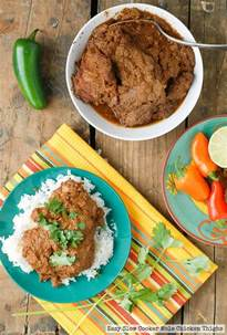 Easy Chicken Thigh Slow Cooker