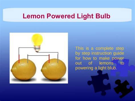lemon battery light bulb quotes