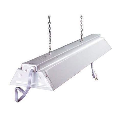 hydrofarm flv22 2 foot fluorescent grow light fixture ebay