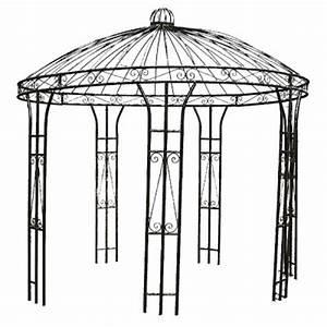 Gloriette En Fer Forgé : kiosque de jardin en fer forg gloriette en fer forg plein ~ Premium-room.com Idées de Décoration