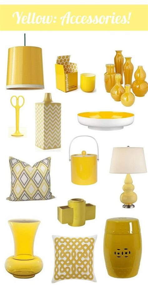 Bedroom Accessories Ornaments by 25 Cheery Ways To Use Yellow In Your Decor Stile