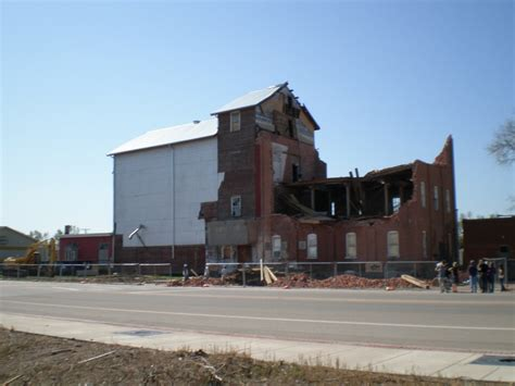 The Windsor Mill After The Tornado.