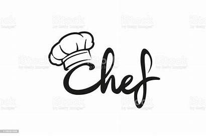 Chef Hat Vector Text Letter Creative Symbol
