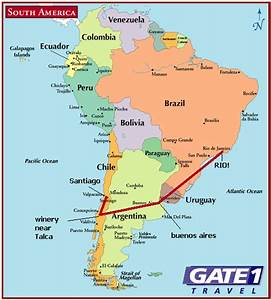 Map Of Santiago  Santiago Maps