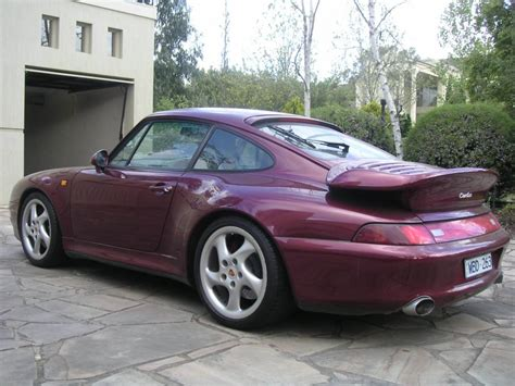 1996 Porsche 993 Turbo For Sale Arena Red