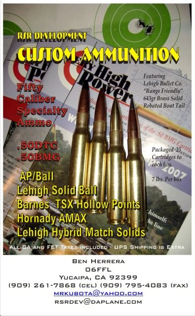 Cheapest 50 Bmg by Cheapest 50 Bmg Ammo The Firing Line Forums