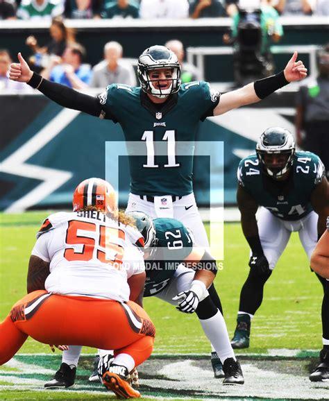 philadelphia eagles rookie quarterback carson wentz