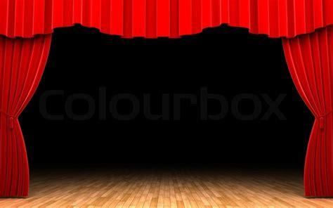 erhoben buehne praesentation stockfoto colourbox