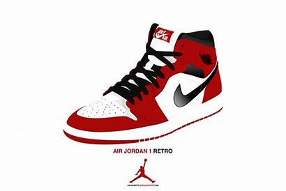 Jordan Air Vector Retro Shoe Clipart Deviantart