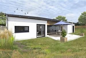 Maison Plain Pied En L : maison plain pied ~ Melissatoandfro.com Idées de Décoration