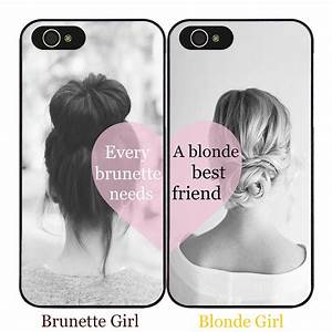 BFF Cute Girl Best Friend Love Hard Case Cover for iPhone ...