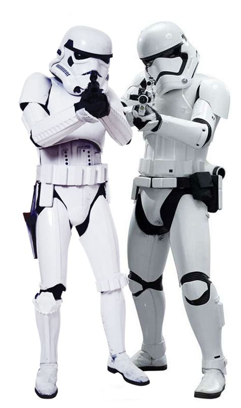 The Stormtroopers of the Empire and First Order by ...