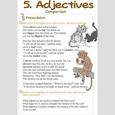 17 Best Images About Adjectives Worksheets On Pinterest  Grammar Lessons, Adjectives Activities