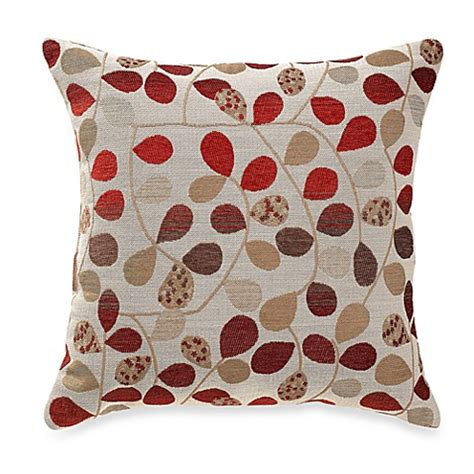 bed bath and beyond sofa pillows bayberry rouge 20 inch square throw pillow bed bath beyond