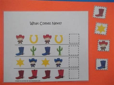 west themed preschool educational what comes 221 | 825720eb38eb1812b871d19baedb810b