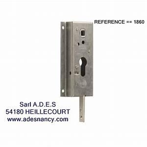 serrure nemef reference 1860 With serrure pour porte de garage basculante