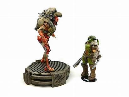 Doom Eternal Figures Action Doomslayer Toys Mcfarlane