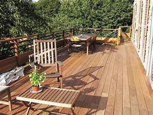 Bois Pour Terrasse Extérieure : d coration terrasse exterieure bois ~ Dailycaller-alerts.com Idées de Décoration