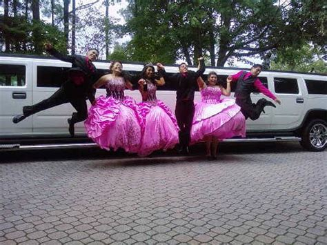 Quinceanera Limos by Limousine Service In San Antonio With H2 Hummer