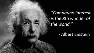 Albert Einstein Quote On Compounding Interest