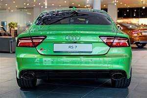 The Audi RS7 Has Never Looked as Good as it Does in Lime Green