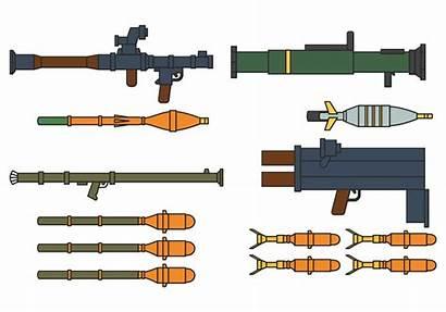 Rpg Vector Bullets Clipart Vecteezy Gun Graphics