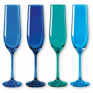 Flute A Champagne : flute a champagne bleu ~ Teatrodelosmanantiales.com Idées de Décoration