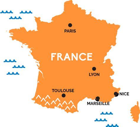 map  france railpasscom