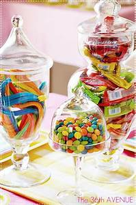 Comment faire une décoration de table avec des bonbons