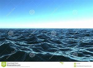 Dark Blue Ocean With Beautifu Stock Image - Image: 3101327