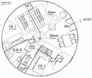 plan maison ronde ventana blog With plan de maisons gratuit 6 une maison en bois ronde et ecologique travaux