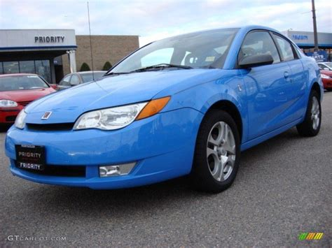 2005 summer blue saturn ion 3 quad coupe 57216995 photo