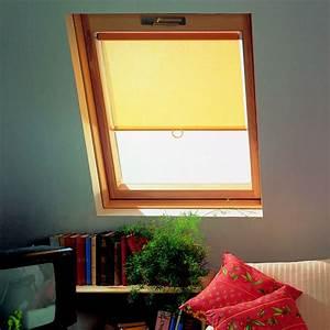 Rideaux à Poser Sur Fenêtres : store interieur rideau pour fenetre de toit type velux ~ Premium-room.com Idées de Décoration