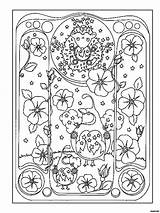 Coloring Dover Books Doverpublications sketch template