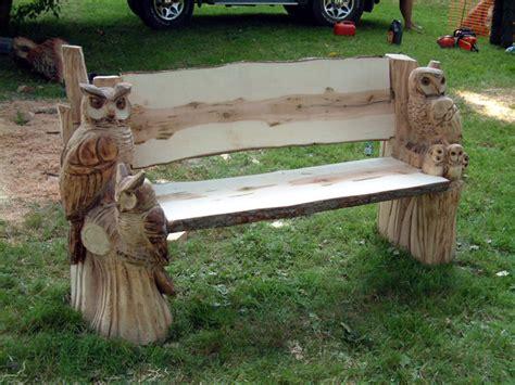 owl bench altham oak