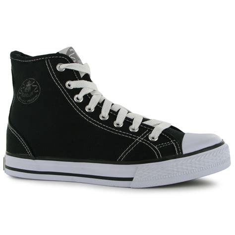 High Top by Dunlop Damen Canvas High Top Turnschuhe Sneakers Freizeit
