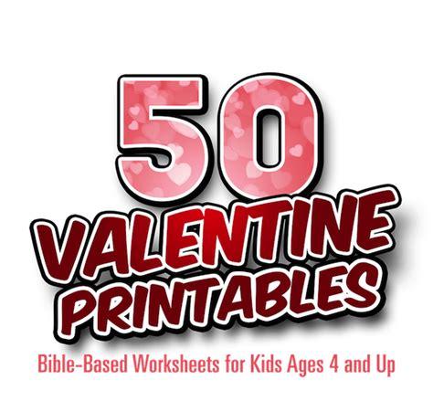 bible based valentine printables  kids teach sunday